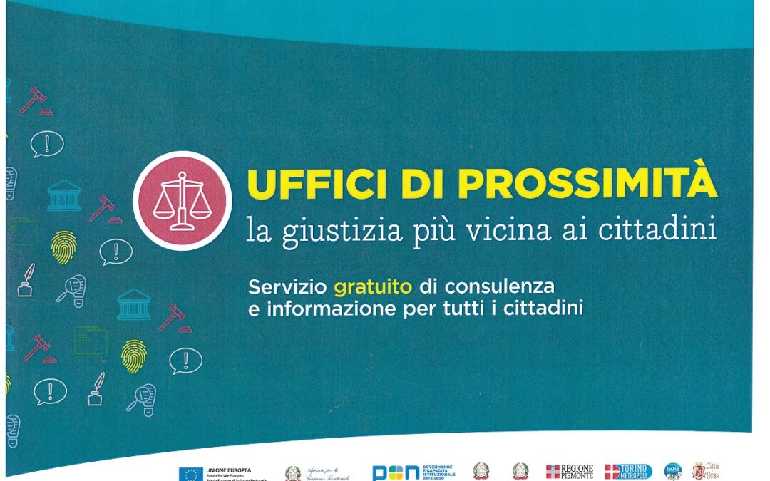 SERVIZIO UFFICIO DI PROSSIMITA' E TUTELA LEGALE